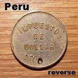 Peru - back