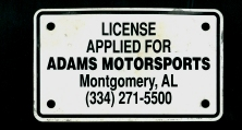 Alabama motorcycle