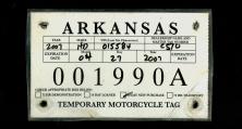 Arkansas motorcycle