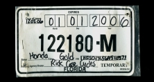 Texas Temporary License Plate >> DREW'S U.S. Temporary MOTORCYCLE license plate checklist - last updated 1/23/10